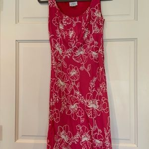 Pink Ann Taylor Loft Dress